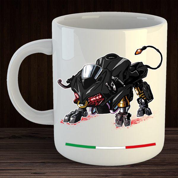 Mug Ducati Panigale Bull Moto Animals