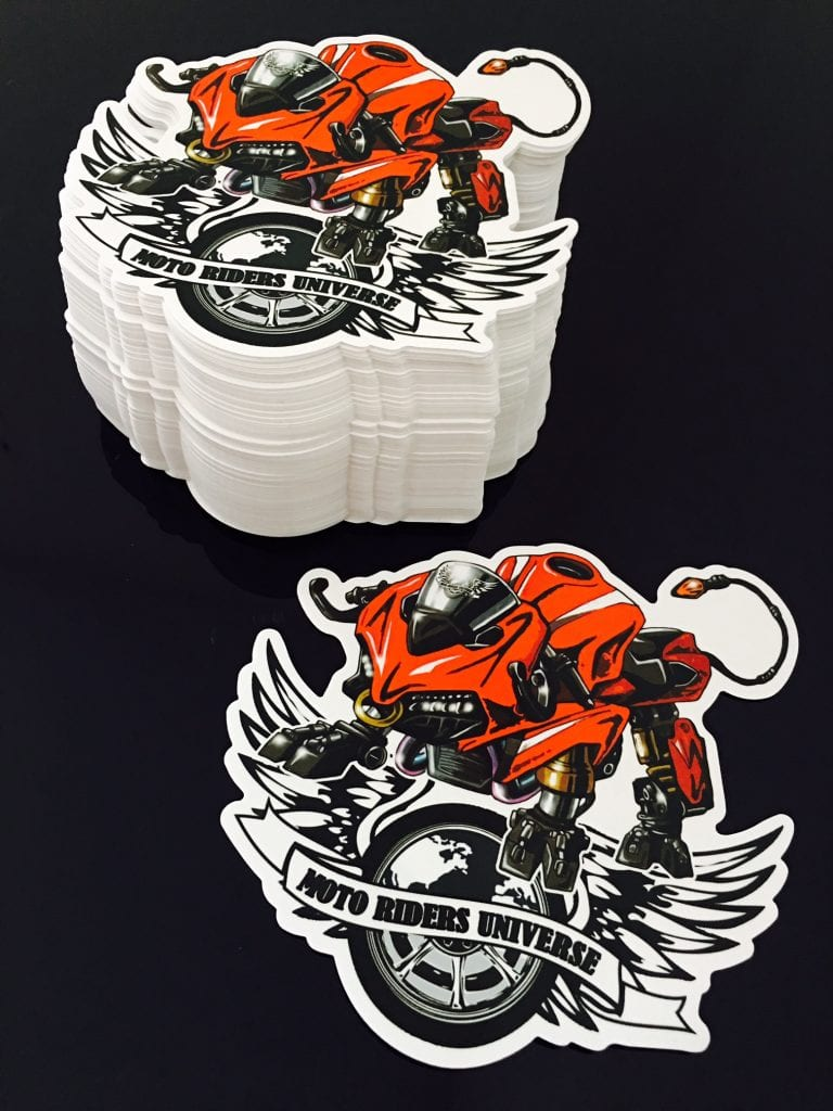 Sticker Ducati Panigale Bull With Logo Mru Moto Animals